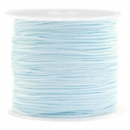 Band Macramé 0.8mm Light turquoise blue