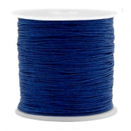 Band Macramé 0.5mm Denim blue