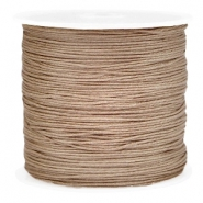 Band Macramé 0.8mm Light brown