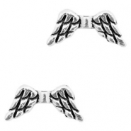 Perlen Metall Basic quality Angel Wing Antik silber