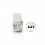 "ImpressArt Figurenstempel ""Hope"" 6mm Silber"