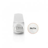 "ImpressArt Figurenstempel ""Faith"" 6mm Silber"