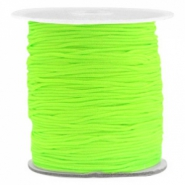 Band Macramé 1.0mm Fluor green
