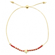 Armband mit Stern Red-gold