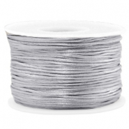 Band Macramé Satin 1.5mm Light grey