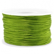 Band Macramé Satin 1.5mm Light olive green