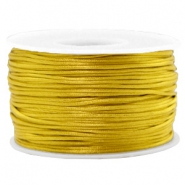 Band Macramé Satin 1.5mm Mustard green