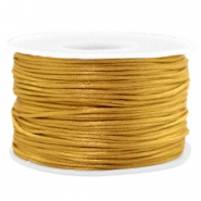 Band Macramé Satin 1.5mm Golden brown