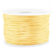 Band Macramé Satin 1.5mm Cream yellow