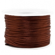 Band Macramé Satin 1.5mm Chocolate brown