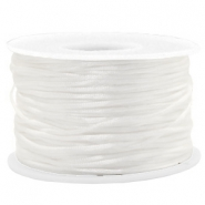 Band Macramé Satin 1.5mm White