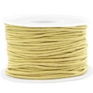 Kordel aus Wachs 1.5mm Ceylon yellow