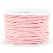 Kordel aus Wachs 1.5mm Light pink