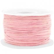 Kordel aus Wachs 1mm Powder pink