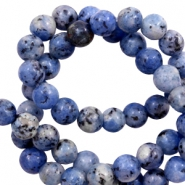 8 mm Perlen Naturstein Dark blue