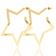 Musthave Ohrringe Star Gold (Nickelfrei)