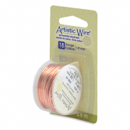 18 Gauge Artistic Wire Bare Copper