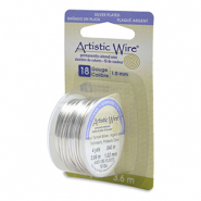 18 Gauge Artistic Wire Tarnish Resistant Silver
