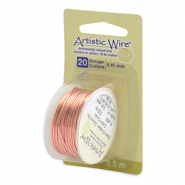 20 Gauge Artistic Wire Bare Copper