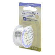 20 Gauge Artistic Wire Tarnish Resistant Silver