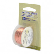 24 Gauge Artistic Wire Bare Copper