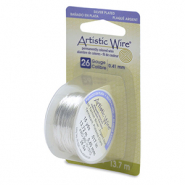 26 Gauge Artistic Wire Tarnish Resistant Silver