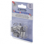 Bead Stopper Large 6pcs Beadalon Stainless steel