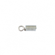 Spring Cord end 1.8mm Beadalon Silber