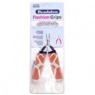 Fashion Grips Tool Covers Giraffe Beadalon Orange-weiss