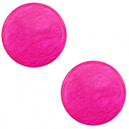 12 mm flach Polaris Elements Cabochon Lively Magenta purple