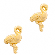 Perlen Metall DQ Flamingo Gold (Nickelfrei)
