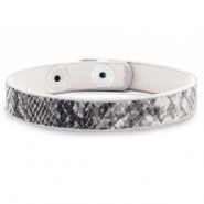 Armband Snake Anthracite grey