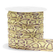 Band Elastisch Snake Olive-yellow
