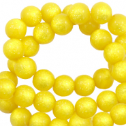 Super Polaris Perle 8mm rund shiny Empire yellow