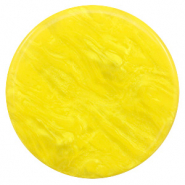 Polaris Elements Cabochons flach 35 mm Lively Empire yellow