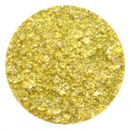 Polaris Elements Cabochons flach 35 mm Goldstein Empire yellow