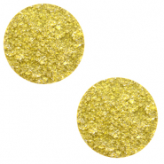 20 mm flach Polaris Elements Cabochon Goldstein Empire yellow
