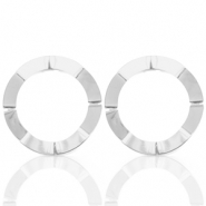Musthave Ohrringe open Circle 41mm Silber (Nickelfrei)