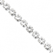 Strass Kette Crystal-silver