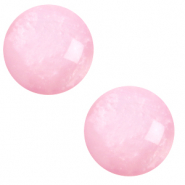 12 mm classic Polaris Elements Cabochon pearl shine Quarzo pink