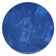 Polaris Elements Cabochons flach 35 mm Lively Iolite blue