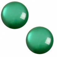 12 mm classic Polaris Elements Cabochon soft tone Agata green