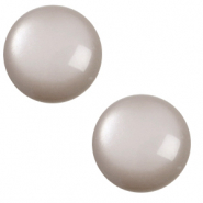 12 mm classic Polaris Elements Cabochon soft tone Acciaio grey