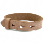 Cuoio Armband Leder 15 mm für 20 mm Toasted nut brown