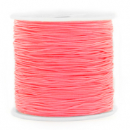 Band Macramé 0.8mm Salmon rose