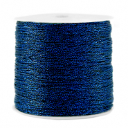 Metallic Band Macramé 0.5mm Dark blue