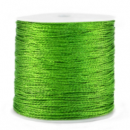 Metallic Band Macramé 0.5mm Green