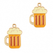 Anhänger Metall Basic Quality Beer Pull Gold-gelb