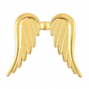 Perlen Metall DQ Angel Wings Gold (Nickelfrei)