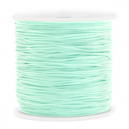 Band Macramé 0.8mm Light turquoise green